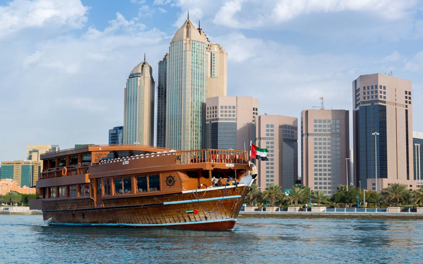 How To Explore Abu Dhabi With The Dhow Cruise